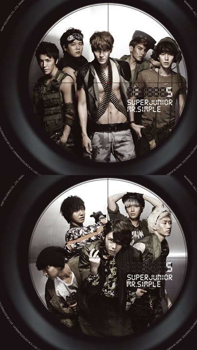 Mr.Simple vers B photo jacket!